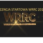 Licencja WRRC 2019-1