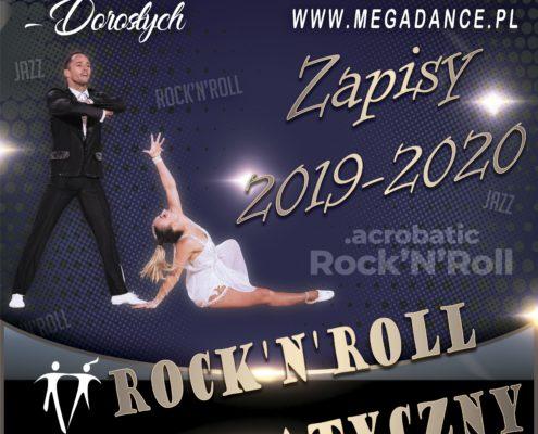 zapisy RnR 2019 na 2020 Mega Dance Zielona Góra Rock n Roll