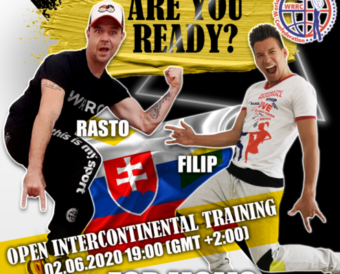 OPEN INTERCONTINENTAL TRAINING MOM RASTO KOCIS WRRC2