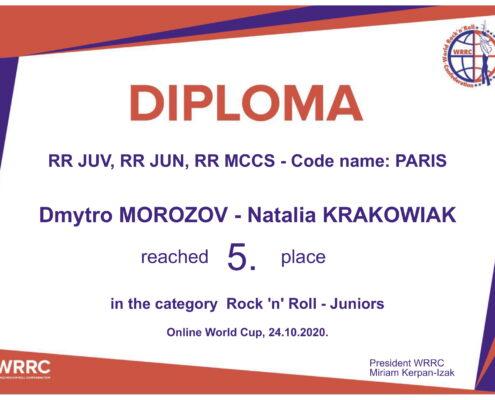 DIMA NATALIA ONLINE DYPLOM diploma WRRC-1
